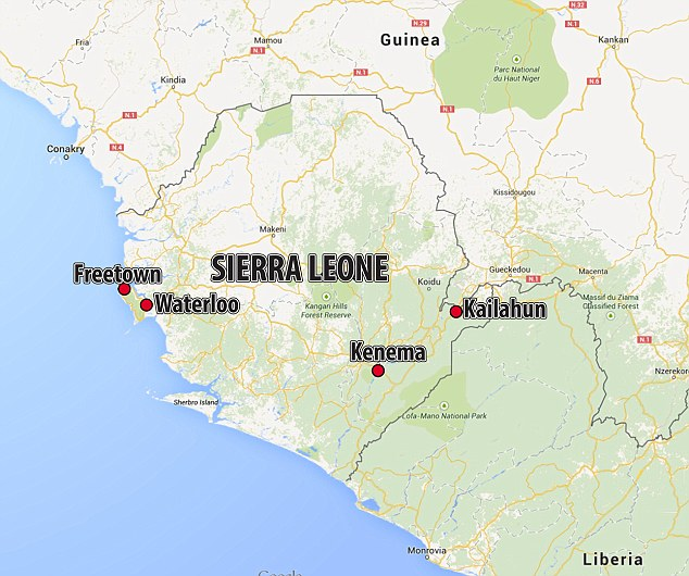 In Sierra Leone there have been 5,235 confirmed, probable and suspected cases of the disease, from 13,703 across the world, while 1,500 people have died
